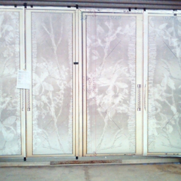 Orchid Doors - artwork in progress