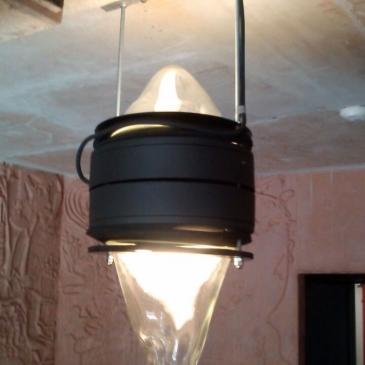 Stairwell illumination - installation