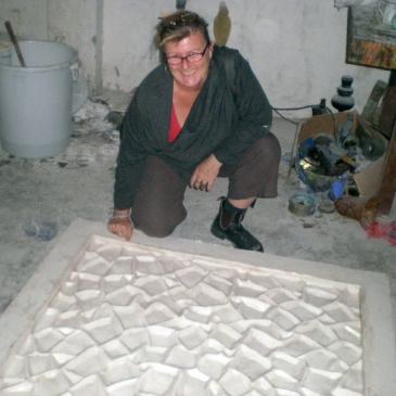 B. Jane Cowie - mould making